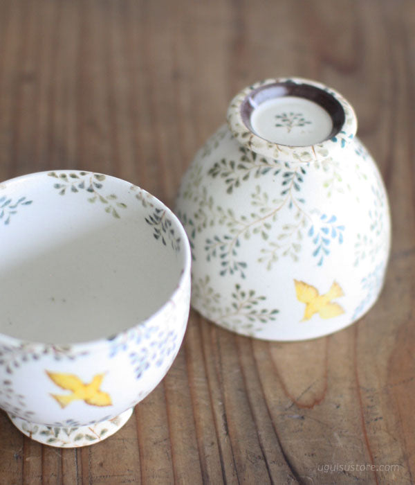 [SOLD OUT] Aya Yamanobe Ceramic Cup {Baden Leaf}