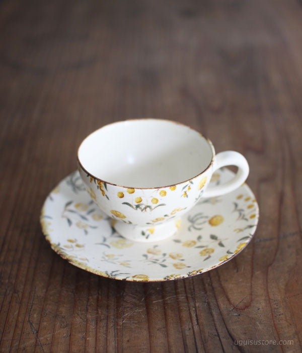 [SOLD OUT] Cup & Saucer {Wild Flowers Yellow}