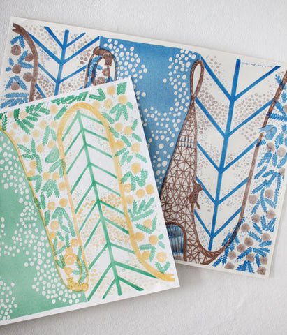 Natsuko Kozue UGUiSU Wrapping Papers - New Colours