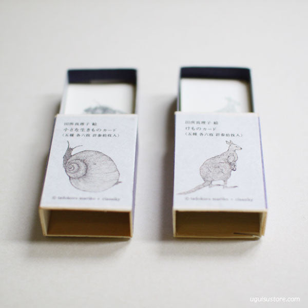[SALE] Mariko Tadokoro Mini Cards in Match Box