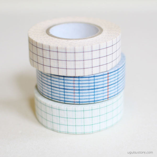[SALE] Grid Washi Tape 18mm Single Roll
