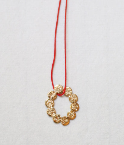 Jona Tenten O Necklace {Gold}