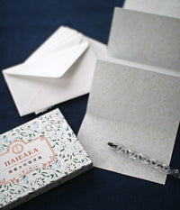 Accordion Paper & Envelope Sets (Horizontal)