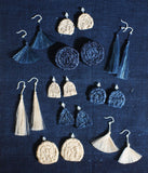 "YUIKOUBOU ""Sankaku"" Earrings {Triangle}"