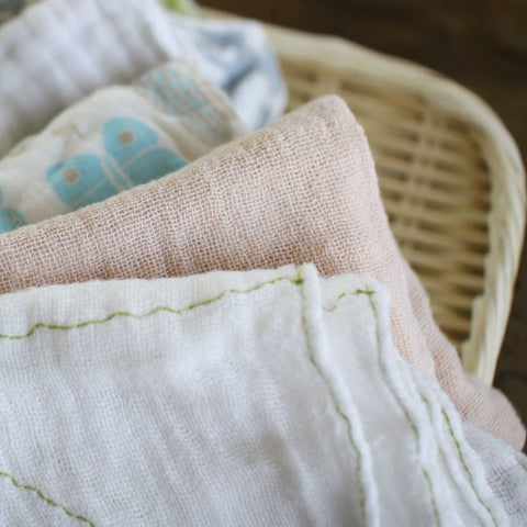 Shirayuki Kitchen Cloths (large with linen mix)