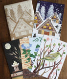 Flora Waycott Japanese Four Seasons Cards