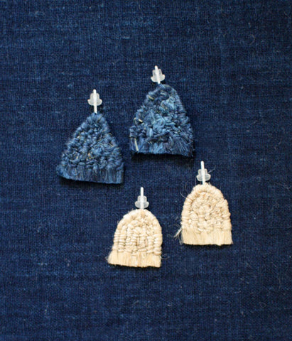 """Sankaku"" Triangle Earrings"