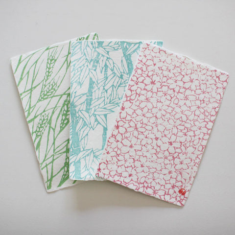 Yumeji Takehisa Washi Handmade Paper Post Card