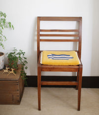 [SOLD OUT] Yonezawa Dantsu Woven Chair Pad {Yellow}