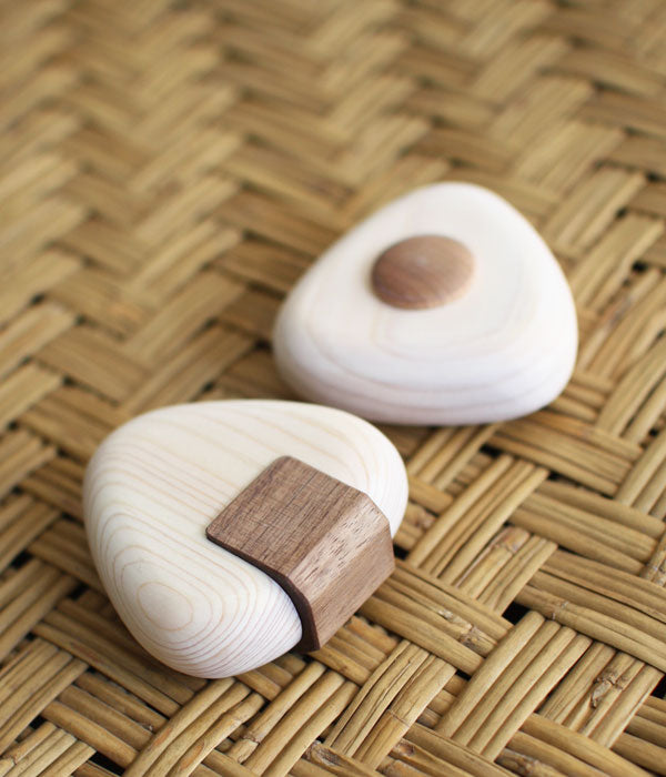 Onigiri Hinoki Wood Teether