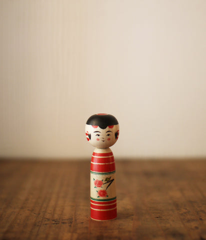 Kokeshi Doll Cherry Blossoms (Mini)