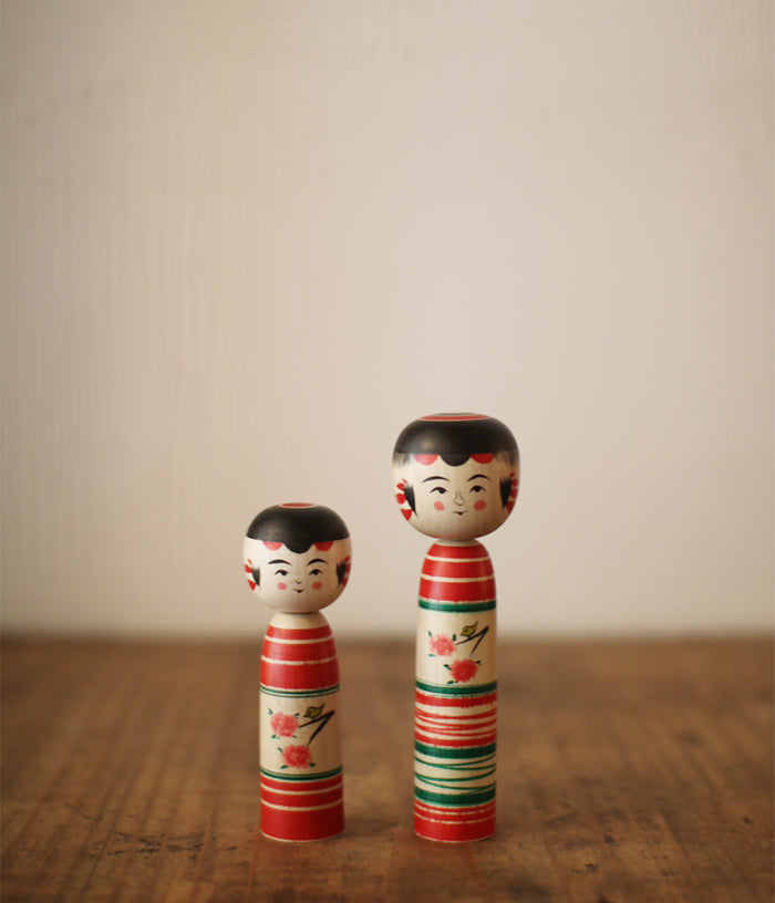 Kokeshi Doll Cherry Blossoms (Small)
