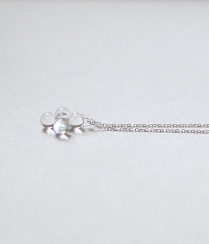 Koto Tsuchiya HARRYS Glass Tiny Cross Necklace