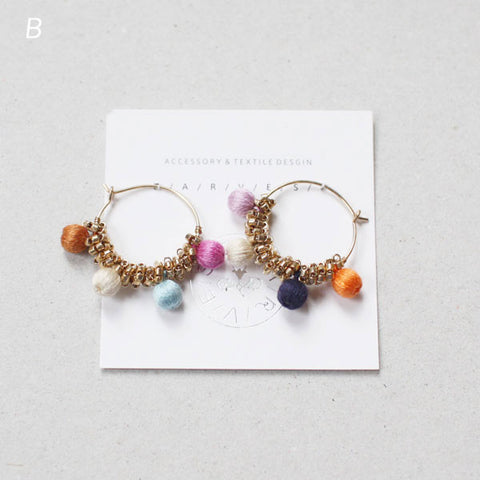 Harvest Midori Sanada Kinomi Earrings