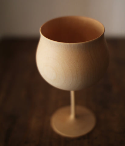 Wooden Wine/Sake Glass
