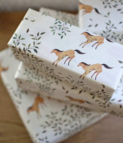 Wrapping Paper {Horse}