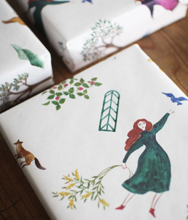 Wrapping Paper {Garden}