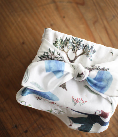 Wrapping Cloth {Garden}