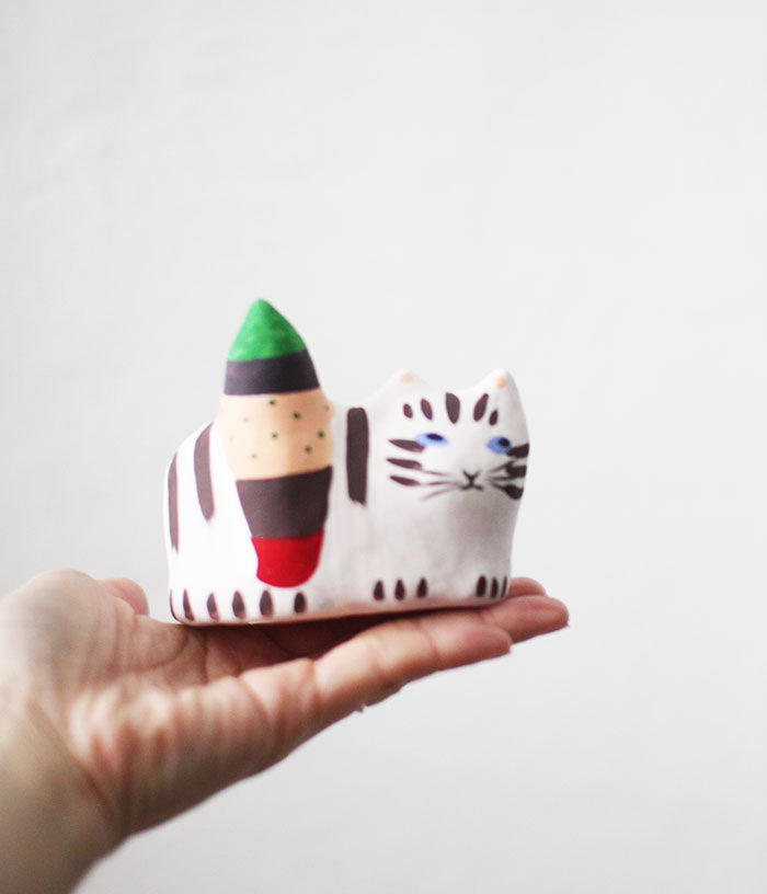 Hariko Paper Figurine {Big Cat}
