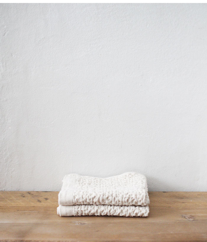 Organic Cotton & Linen Waffle Washer [S] (backorder)