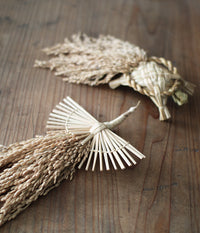 Moe Watanabe Rice Straw Decorations