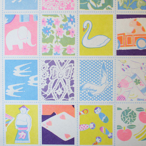 Yonagadou Modern Japan Reproduction Paper {Mosaic}