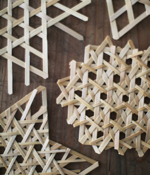 Bamboo Weaving Pattern Decorations