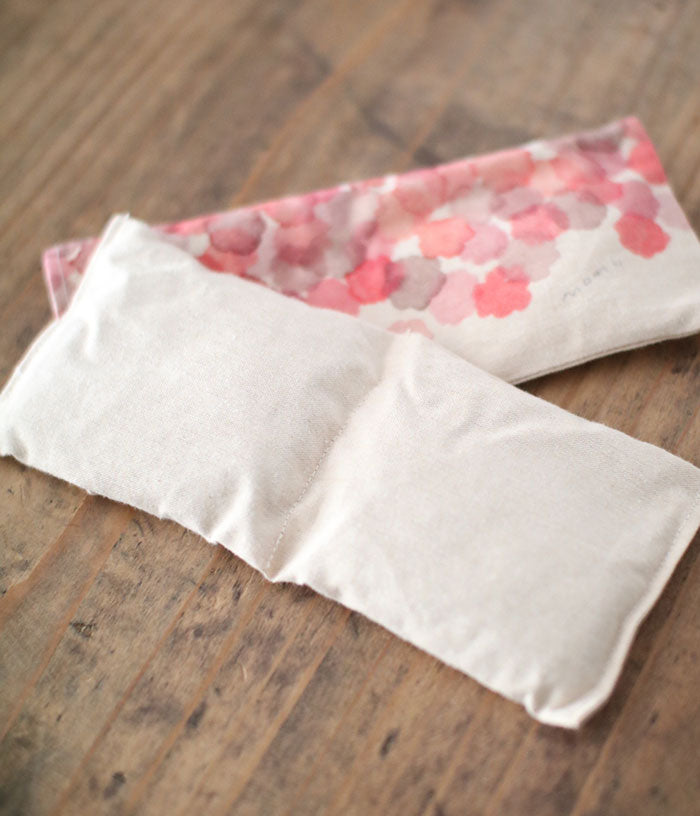 Warm Eye Pillow with Japanese Forest Mist {Camellia Sasanqua}