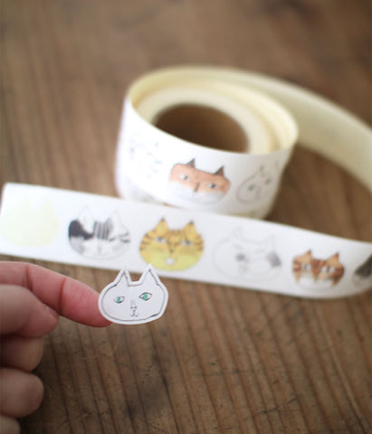 TORANEKO BONBON Cutout Sticker Roll
