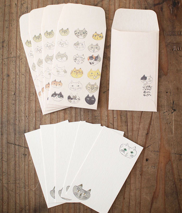 TORANEKO BONBON Small Note Card Sets