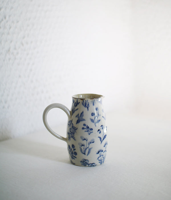 Wildflowers Blue Jug A