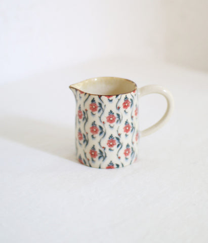 Red Flower Creamer