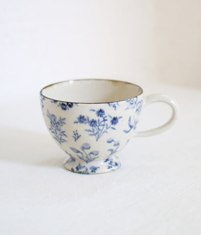 [SOLD OUT] Wildflowers Blue Mug