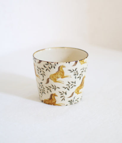 [SOLD OUT] Horse Tea Cup