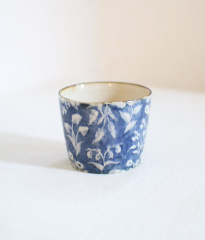 [SOLD OUT] Wildflower Mono Blue Tea Cup
