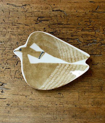 KATA KATA Small Ceramic Bird Plate