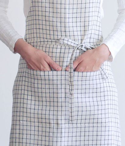 [SOLD OUT] fog linen work Full Apron {Jenn}
