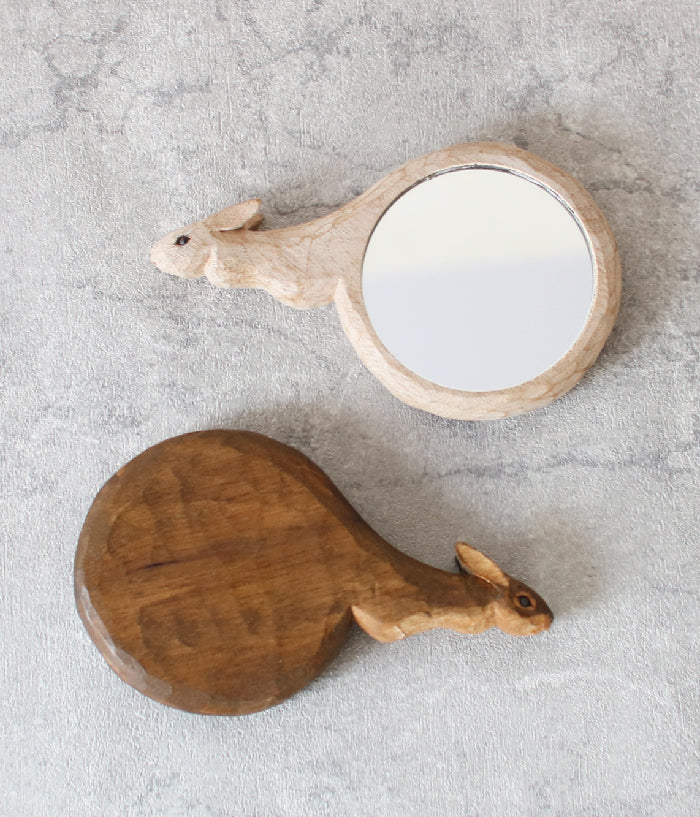 Small Rabbit Hand Mirror
