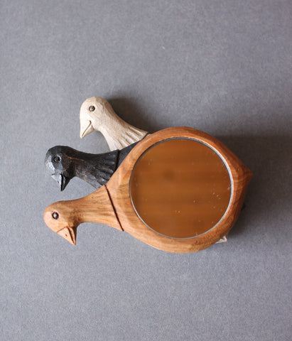 Small Bird Hand Mirror