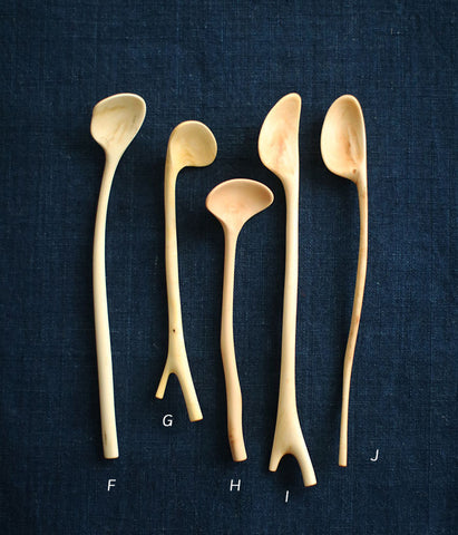 Small Branch Spoons [F-J]