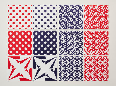 TOKOLO PATTERN ORIGAMI PAPER