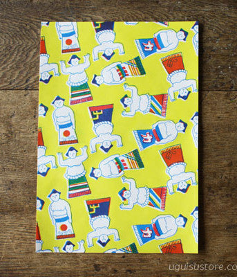Yonagadou Modern Japan Reproduction Paper {Sumo Wrestlers}