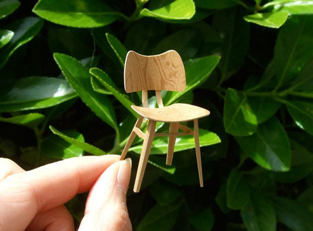 Paper model chair {Butterfly chair}