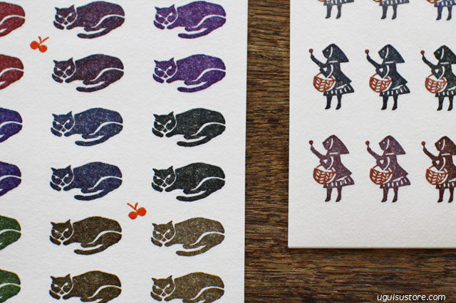 Mihoko Seki Washi Stickers 120 pcs