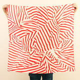 Furoshiki Wrapping Cloth {Stripe Red}