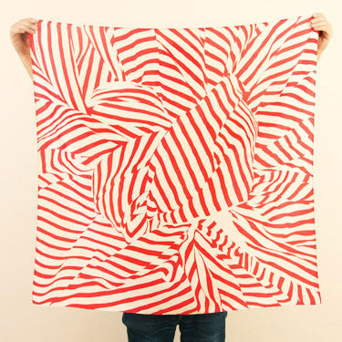 Furoshiki Wrapping Cloth - LINK x Lucinda Newton-Dunn {Stripe Red}