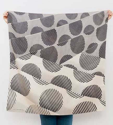 Furoshiki Wrapping Cloth - Dots by Lucinda Newton-Dunn