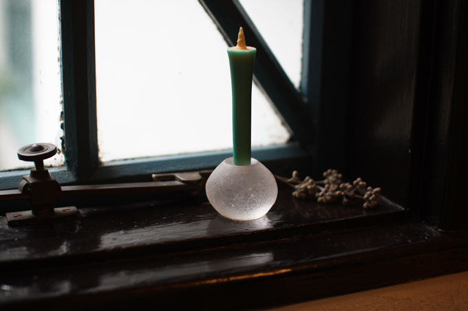 [SOLD OUT] Glass Candle Stand