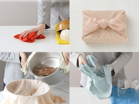 Hana-Hukin Kitchen Cloth (Cotton)