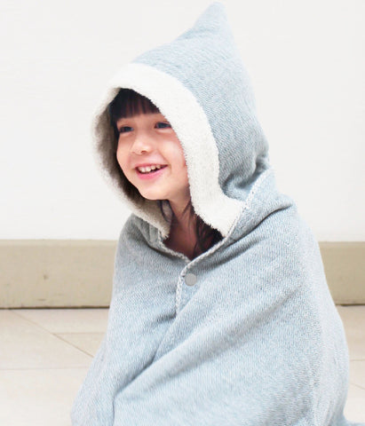 Claire Organic Cotton Hooded Bath Towel